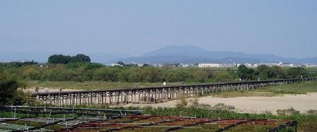周辺の観光スポットとしておすめの流れ橋