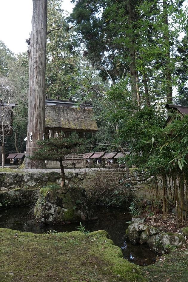 皇大神社は元伊勢伝承を残す一社。大阪や奈良にもある。凛としたたたずまいに感動する参拝者も多い。