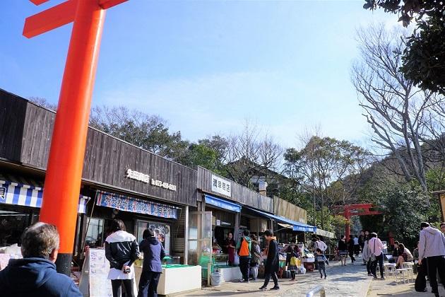 周辺情報としておすすめは海の幸が楽しめるお店の数々。満幸商店が特に人気だがいつも混んでいる。