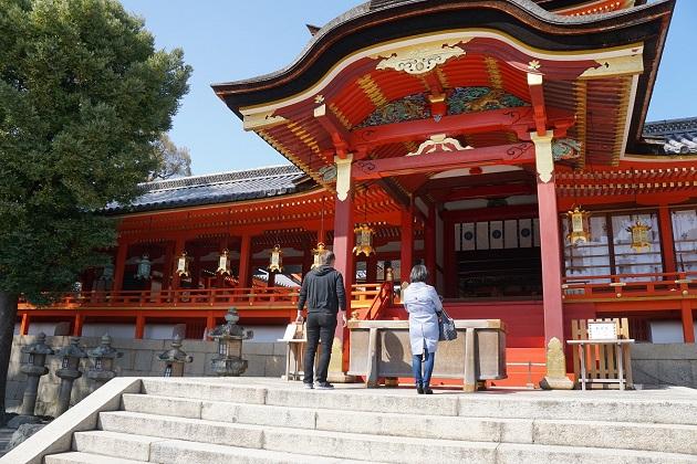 石清水八幡宮の初詣は厄年の人に特におすすめ。