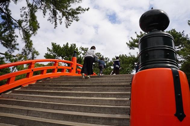 アクセスもすぐれる住吉神社。大阪最強のパワースポットとしての呼び名も高い。