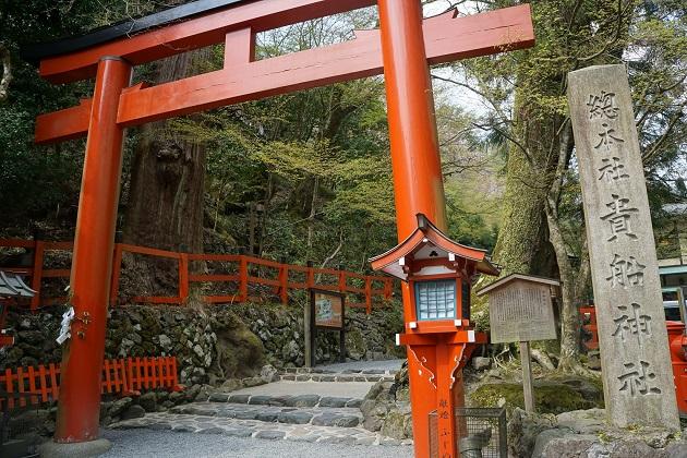 貴船神社の最大のパワースポットは奥宮。龍穴があるとされる。