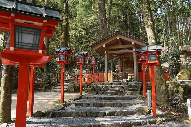 貴船神社にある結社の本殿。