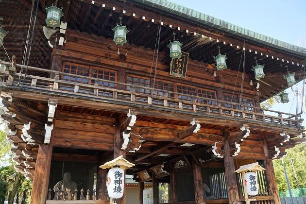 ご利益を求めて連日多くの参拝者が訪れる石切神社。厄払いの霊験でも有名だ。