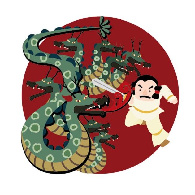 家津美御子大神を祭る熊野本宮大社。素戔嗚尊とも阿弥陀如来ともいわれる。