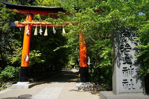 世界遺産の宇治上神社。関西でも穴場のパワースポットだ。