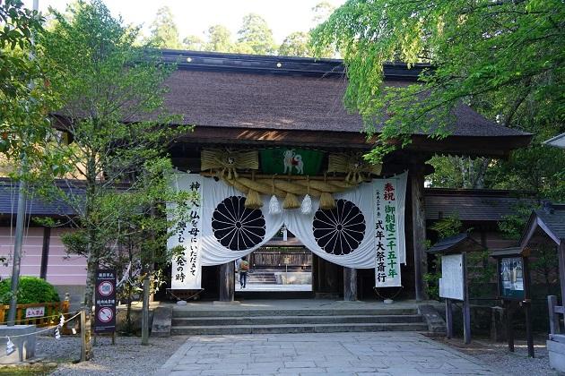 熊野本宮大社は日本一霊験所に認められるスピリチュアルなパワースポット。