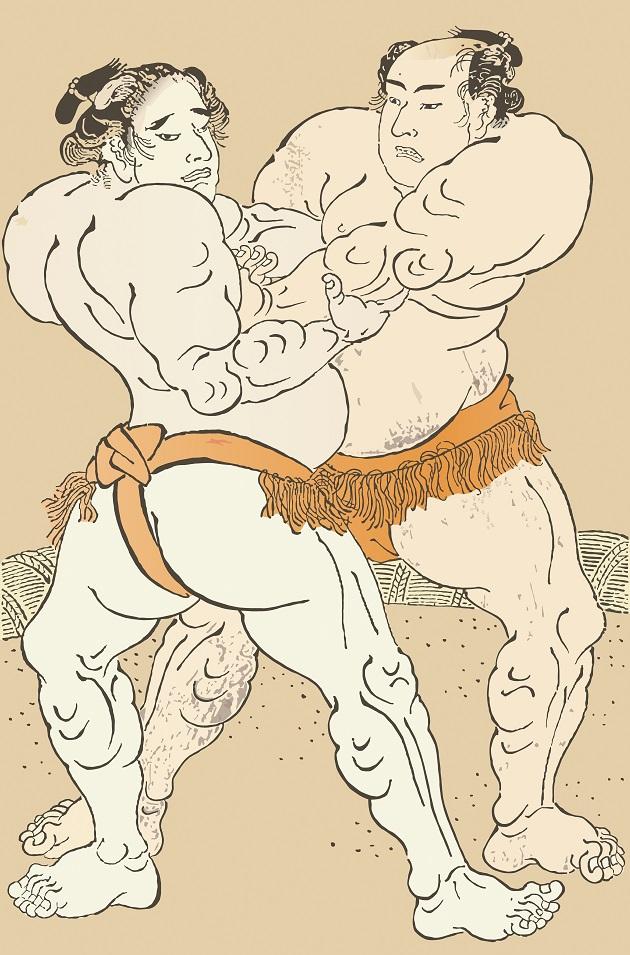 創建は紀元前の相撲。いにしえの時代の相撲は神事だった。