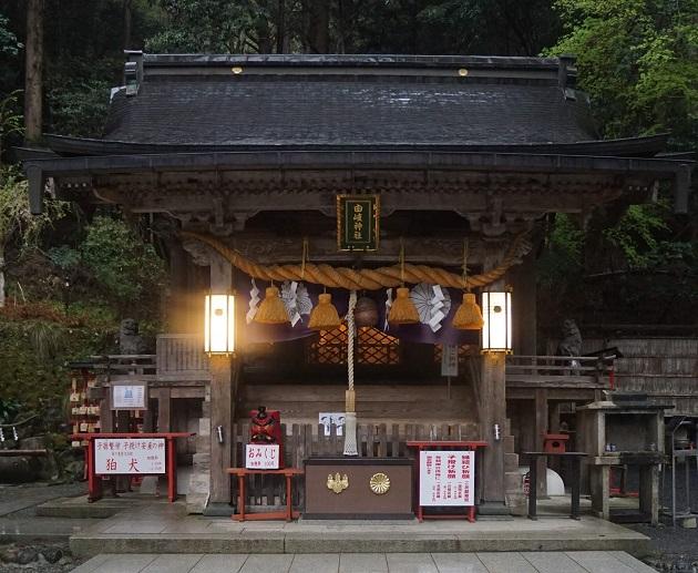 由岐神社は京都縁結びの神社の穴場的パワースポット。