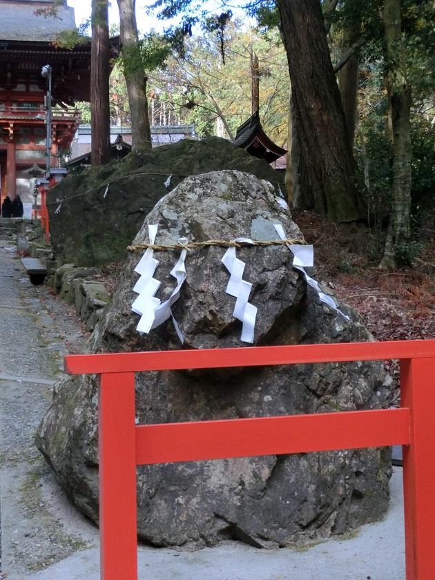 霊石猿石。確かに猿にみえる。
