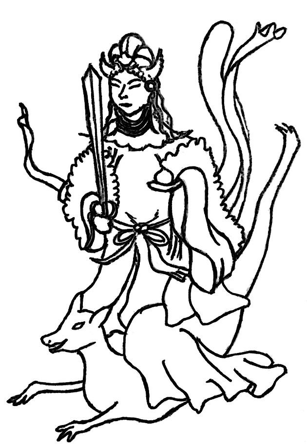 最上位経王大菩薩をイメージしたイラスト