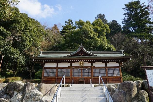 吉備津神社のえびす宮。