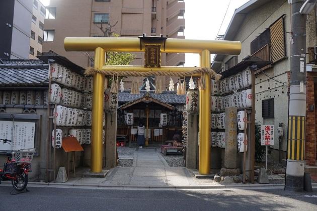 御金神社のゴージャスな鳥居