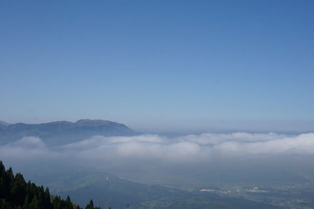 伊吹山の雲海