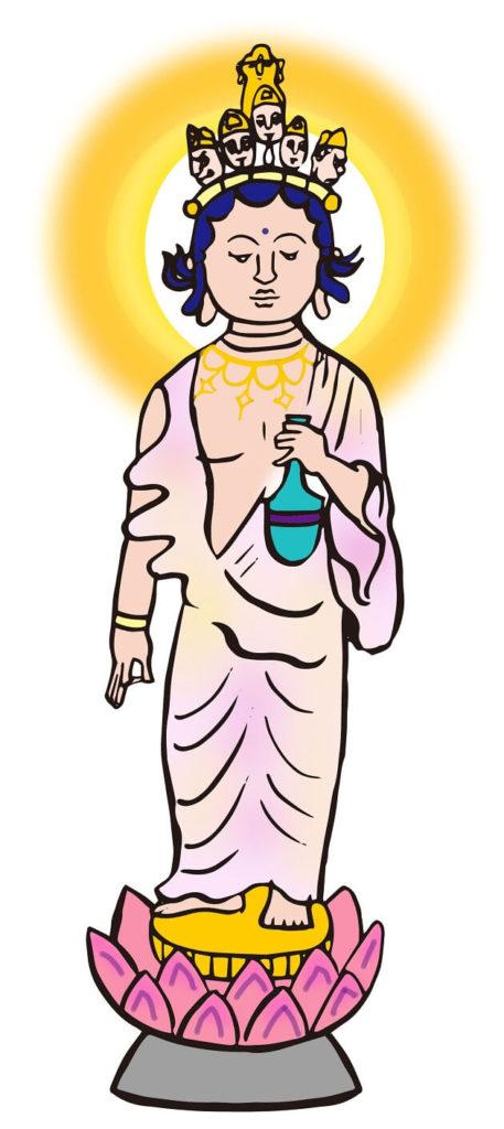 菊理媛神と同一視される十一面観音