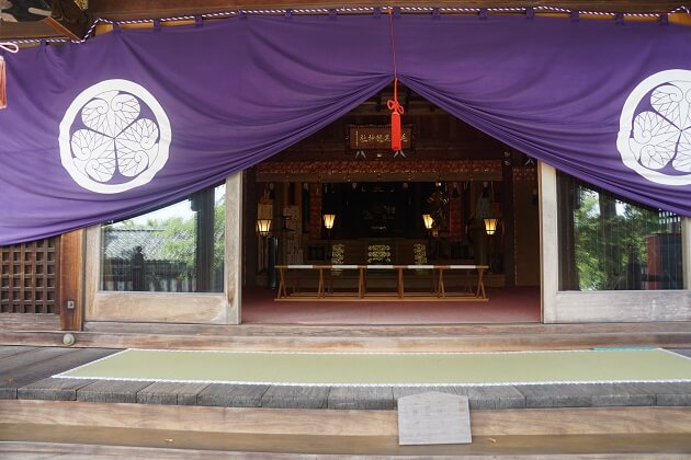 毛谷黒龍神社の本殿
