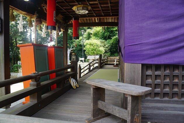 毛谷黒龍神社の最強パワースポット