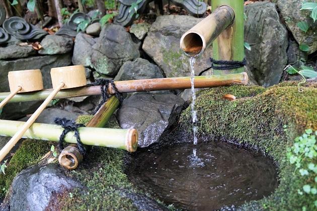 大豊神社の御神水