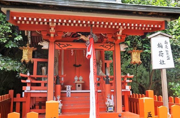 大豊神社の稲荷社の狛狐