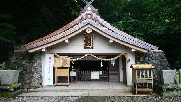 奥社の社殿