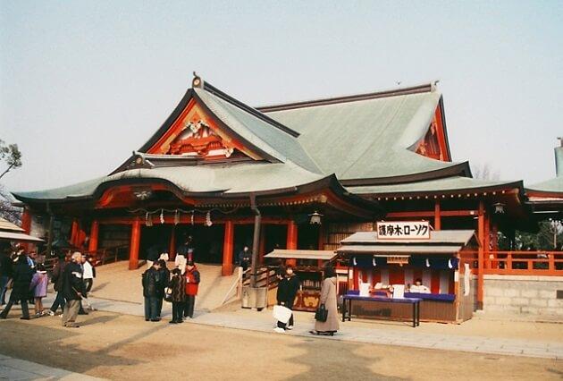 成田山不動尊の本堂