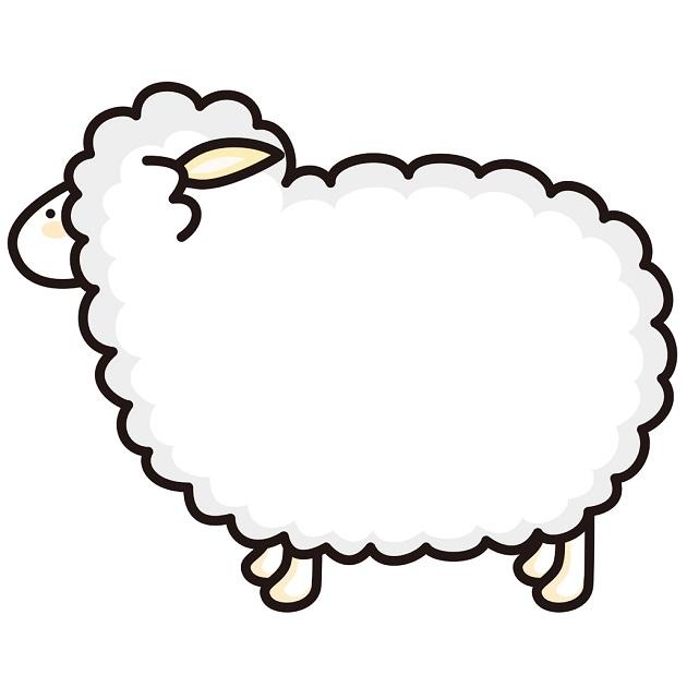 未年を象徴する羊のイラスト